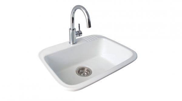 Seima Eva 600 Ceramic 23 Litre Laundry Sink