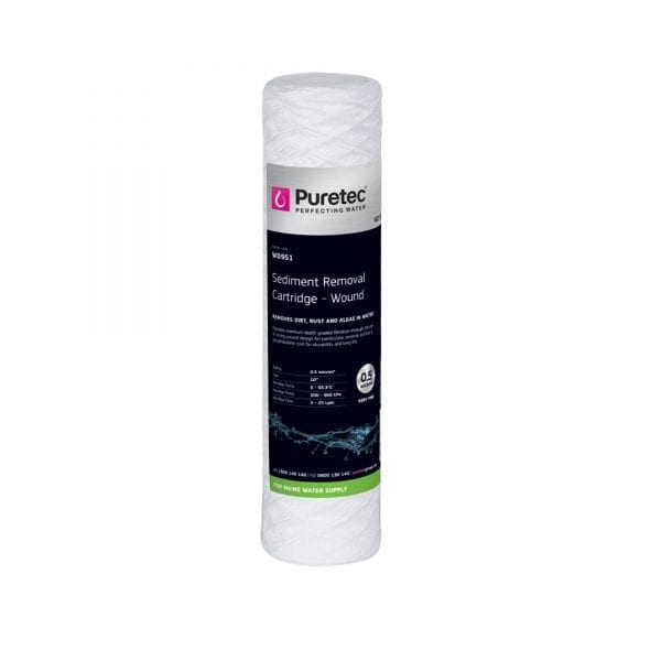 "Puretec Wound Sediment Cartridge 0.5 Micron 10"""