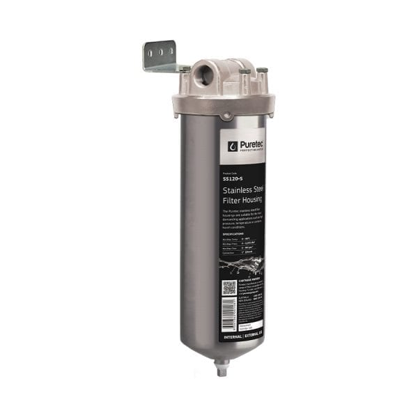Puretec Stainless Steel Filter Housing