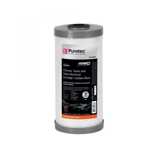"""Puretec Carbon Block Cartridge 5 Micron 10"""""""