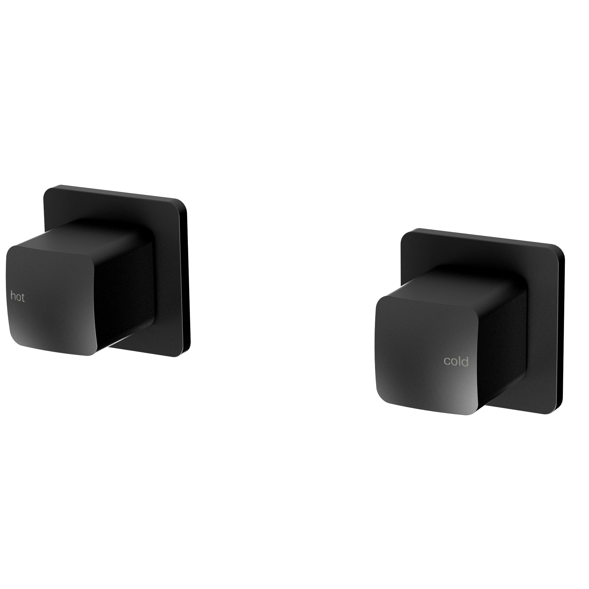 Phoenix Rush Wall Top Assembly Extended Black (Pair)