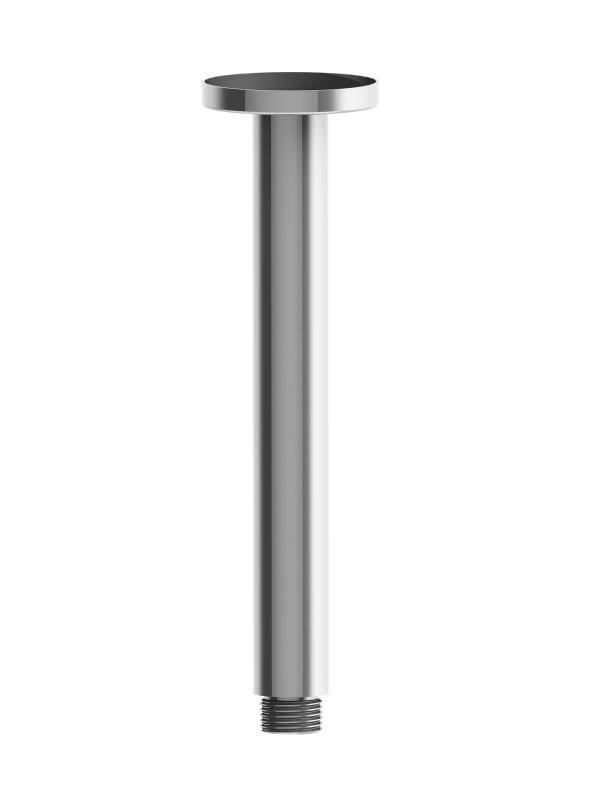 Harmony Senza Round Ceiling Arm 200mm Chrome