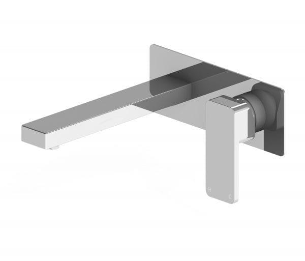 Harmony Rondo Solid Wall Basin Mixer Chrome