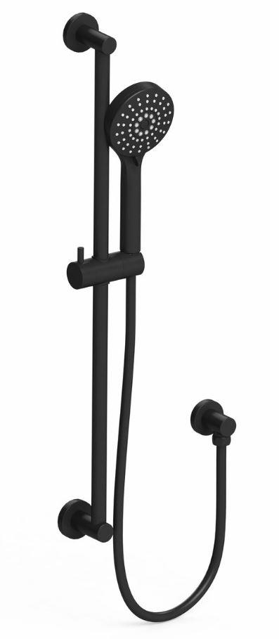 Harmony Senza Multi Function Rail Shower Black