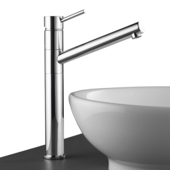 Stylus Cadet Tower Basin Mixer Chrome