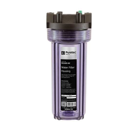 Puretec Water Filter Clear Housing
