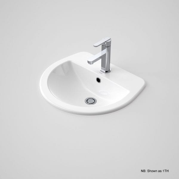 Caroma Cosmo Vanity Basin 3th White