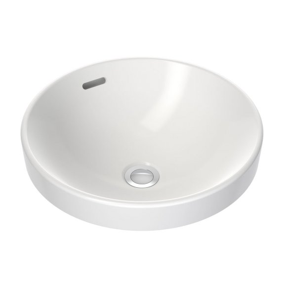 Clark Round Inset Basin 400mm White