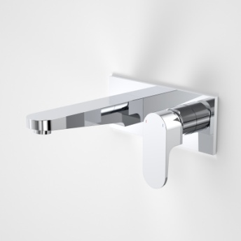 Caroma Track Wall Basin Mixer 200mm Chrome