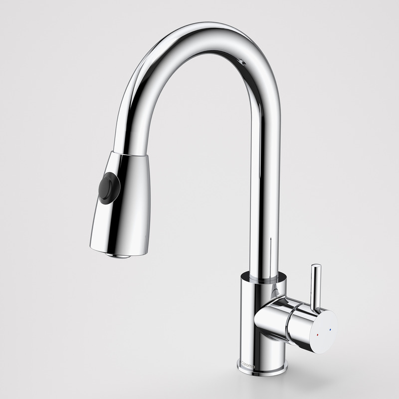 Caroma Husk Pull Out Spray Sink Mixer Chrome
