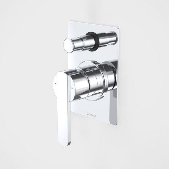 Caroma Saracom Shower/Bath Divertor Mixer Chrome
