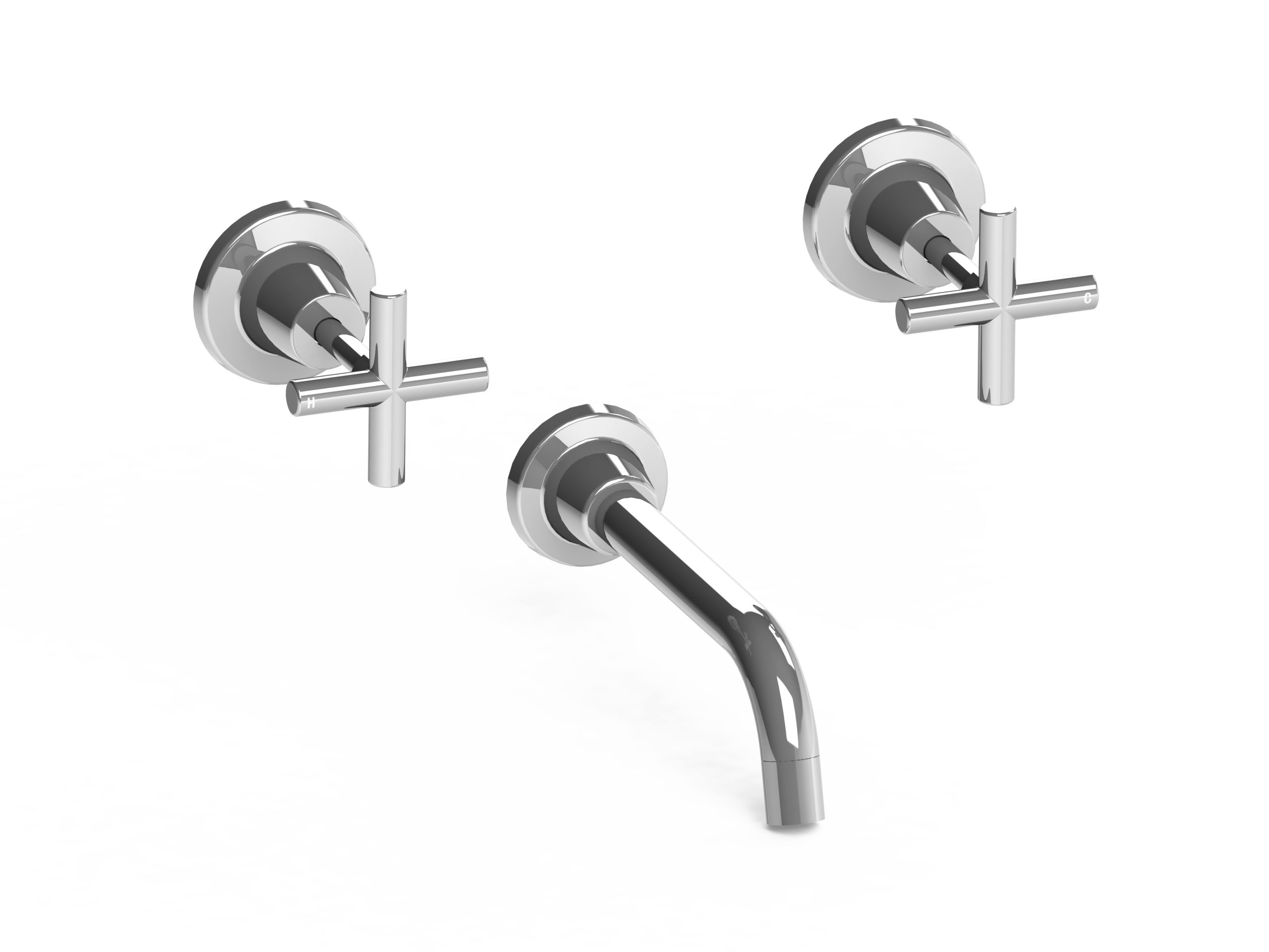 Harmony Meno Bath Set Chrome