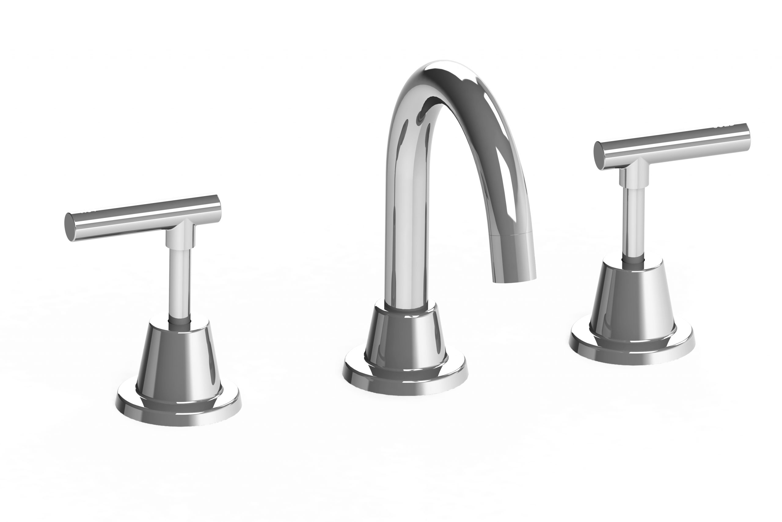 Harmony Meno Basin Set Lever Chrome