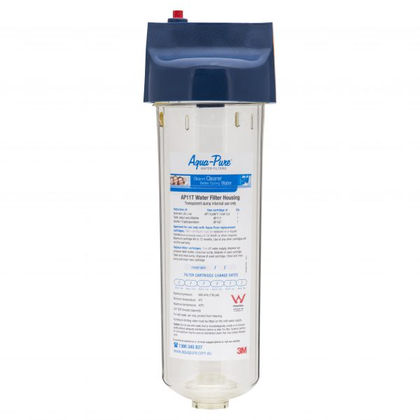 Aqua-Pure Clear Water Filter Housing