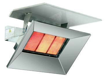 Bromic Deflector To Suit Heat-Flo 3 Tile Heater
