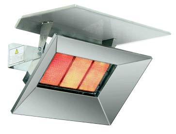 Bromic Deflector To Suit Heat-Flo 5 Tile Heater