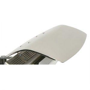 Bromic Deflector Smart Heat 500 Series White