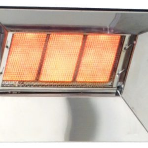 Bromic Radiant Natural Gas Commercial Tile Heater Heat-Flo 3