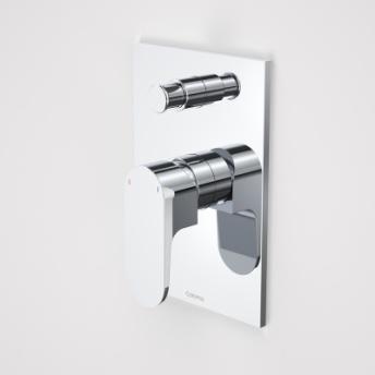 Caroma Track Shower/Bath Divertor Mixer Chrome