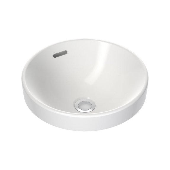 Clark Round Inset Basin 350mm White