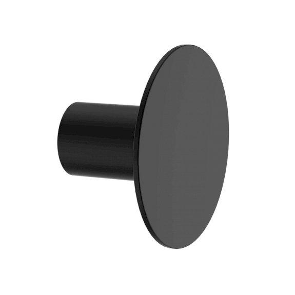 Clark Round Wall Hook Black