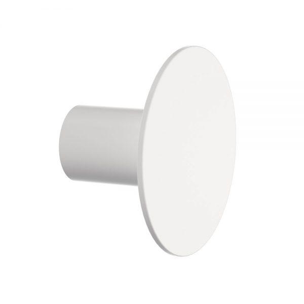 Clark Round Wall Hook White