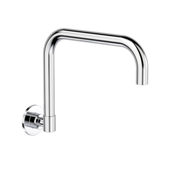 Clark Round Wall Sink Swivel Outlet Chrome