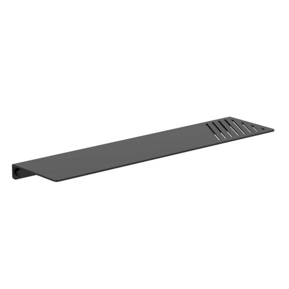 Clark Square Metal Shelf Black