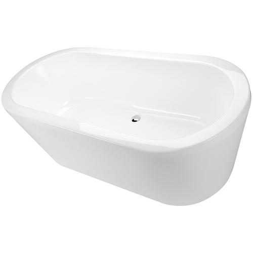 Decina Cool Freestanding Bath 1800 White