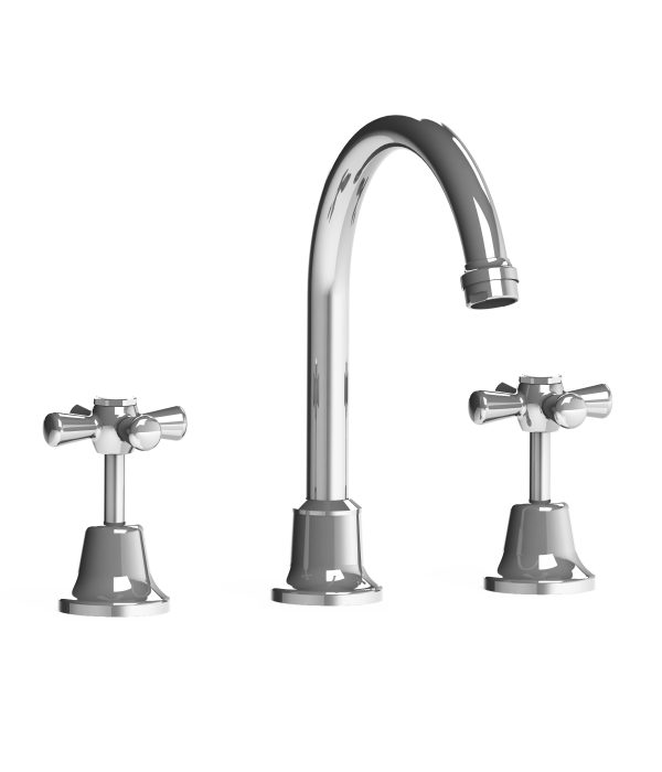 Harmony Latilla Hob Sink Set Chrome