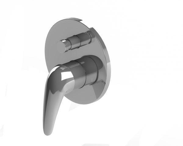 Harmony Meno Shower/Bath Diverter Mixer Chrome