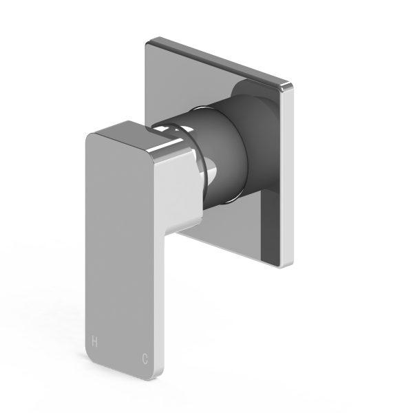 Harmony Rondo Solid Shower/Bath Mixer Chrome