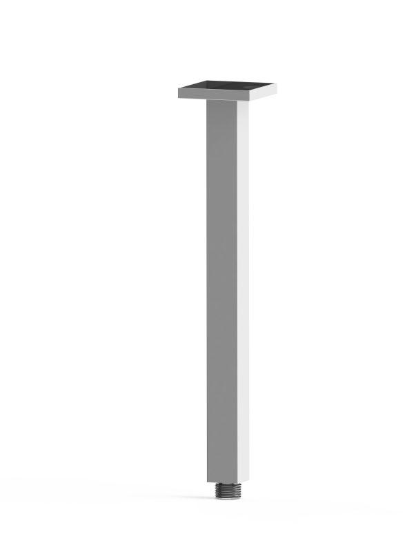 Harmony Rondo Square Ceiling Arm 300mm Chrome
