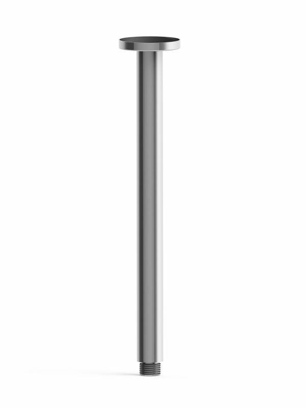 Harmony Senza Round Ceiling Arm 300mm Chrome