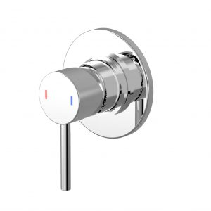 Harmony Senza Wall Mixer Chrome Round Handle