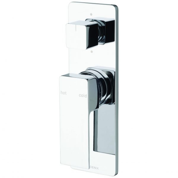 Phoenix Radii Shower/Bath Divertor Mixer Chrome