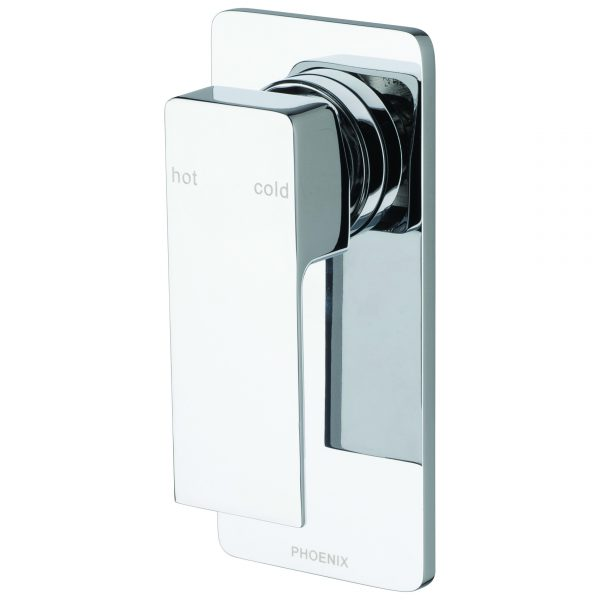 Phoenix Radii Shower/Bath Mixer Chrome