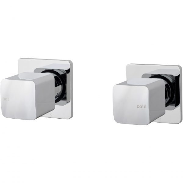 Phoenix Rush Wall Top Assembly Extended Chrome (Pair)
