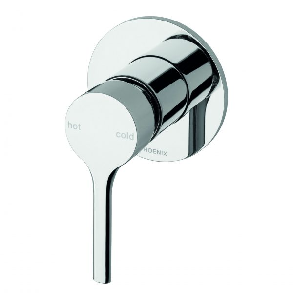 Phoenix Vivid Silmline Oval Shower/Bath Mixer Chrome