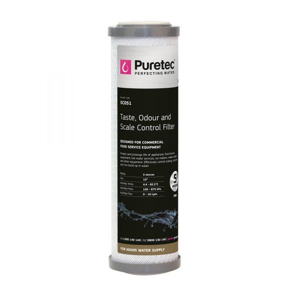 "Puretec Triple Action Filter Cartridge 5 Micron 10"""