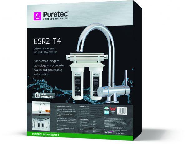 Puretec Undersink Ultraviolet Filter System w/Tripla T4 Faucet