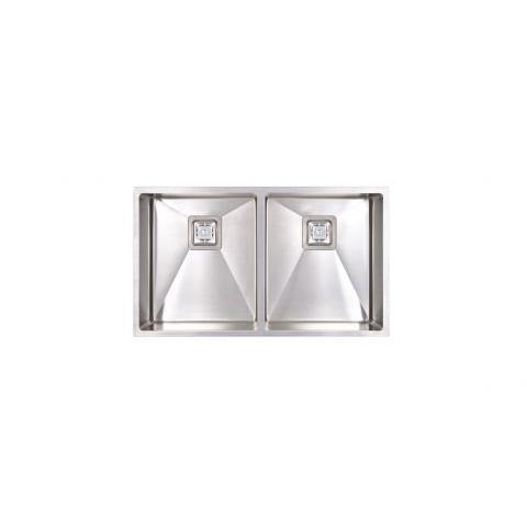 Seima Tetra Pro 775 Double Bowl Sink Steel