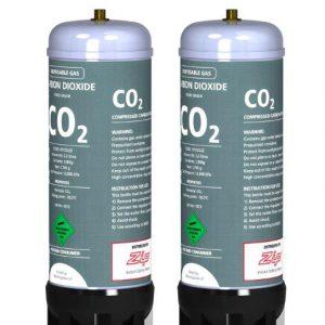 Zip HydroTap CO2 Cylinder Kit Sparkling Models Pair