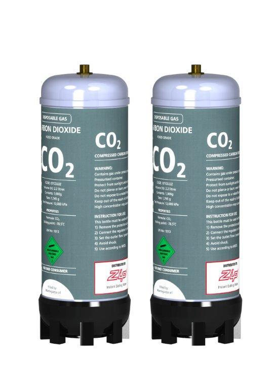 Zip Hydrotap C02 Cylinder Kit For Sparkling Models
